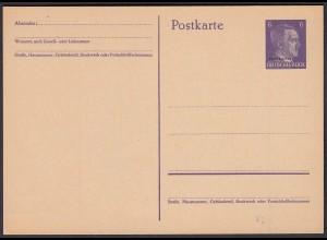Deutsche Besetzung Ostland Ganzsache P2 * ungebraucht (22764