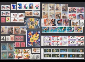 USA tolles Lot nur verschiedene Briefmarken postfrisch MNH (23658