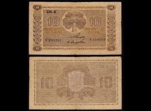 FINNLAND - FINLAND 10 MARKKA 1939 Litt. D PICK 70a F (4) Serie C (23620