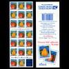 USA 1995 postfrisches Heftchen Selbstklebend Birnen & Pfirsich (23669