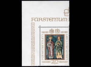 Liechtenstein 20 Franken Marke 1979 Waltensburg Mi.734 ER ** postgültig (23838