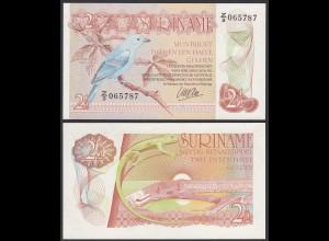 SURINAM - SURINAME 2 1/2 Gulden 1985 UNC (1) Pick 119 (23928