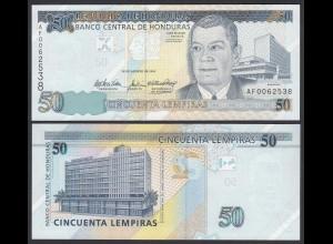 HONDURAS 50 LEMPIRAS BANKNOTE 2004 Pick 94 UNC (1) (23958