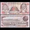 HONDURAS 10 LEMPIRAS BANKNOTE 1989 Pick 70 UNC (1) (23961