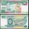 SINGAPUR - SINGAPORE 5 Dollars (1997) UNC (1) Pick 35 (23975