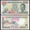 Tansania - Tanzania 1000 Shilingi (1993) Pick 27c XF (2) (23981