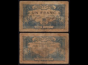 Frankreich - France 1 Franc 1915 VALENCE gebraucht (24037