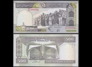 IRAN (Persien) - 500 RIALS (1982) Sign 25 Pick 137f UNC (1) (24171