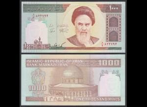 IRAN (Persien) - 1000 RIALS (1992) Sign 28 Pick 143c UNC (1) (24165