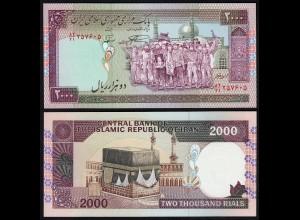 IRAN (Persien) - 2000 RIALS (1986) Sign 28 Pick 141l UNC (1) (24164