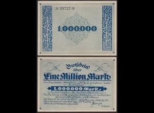 Mindelheim Bayern 1- Million Mark 1923 Notgeld/Gutschein ca. XF (2) (24162