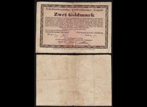 2 Goldmark Handelskammer Stuttgart Württembergisches Notgeld (24156