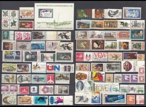 USA postfrisch tolles Lot postfrisch MNH Verschiedene Marken ggf.mit D/D (24304