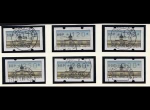 Berlin Automaten Marken 110 - 300 gestempelt (20884