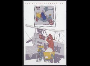 Bund BRD Luftverkehr MiNr. Bl. 41 T.d.Briefmarke 1997 ** postfrisch (5489