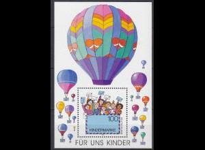 Bund BRD Unsere Kinder MiNr. Bl. 40 aus 1997 ** postfrisch (5484