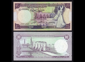 SYRIEN - SYRIA 10 Pounds 1991 Pick 101e UNC (1) (17995