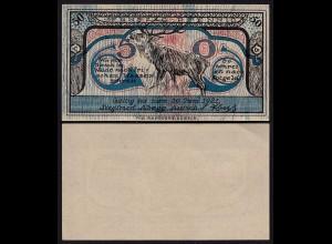 Aurich Ostfriesland Notgeld 50 Pfennig 1921 Siegfried Abegg aUNC (1-) (24223