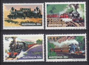 AUSTRALIEN AUSTRALIA EISENBAHN TRAIN SET ** (5284