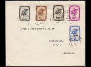 Belgien - Belgium 1938 Brief/Cover ex Prinz Albert von Lüttich (22797