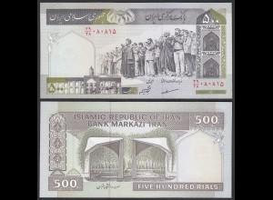 IRAN (Persien) - 500 RIALS (1983) Sign 30 Pick 137A UNC (1) (24274