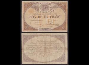 Frankreich - France - 2 Franc VF- (3-) Chambre De Commerce NANTES (24249
