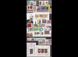 BRD BUNDESREPUBLIK schönes Briefmarken LOT gestempelt hoher Katalogwert (a557