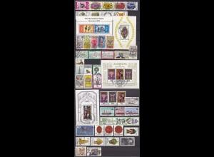 BRD BUNDESREPUBLIK schönes Briefmarken LOT gestempelt hoher Katalogwert (a555