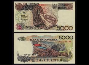 INDONESIEN - INDONESIA 5000 RUPIAH Banknote 1992/2000 Pick 130i UNC (1)