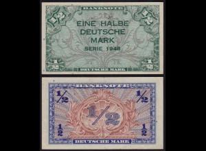 BDL - 1/2 Deutsche Mark 1948 Ro. 230 gutes VF+ (3+) (15113