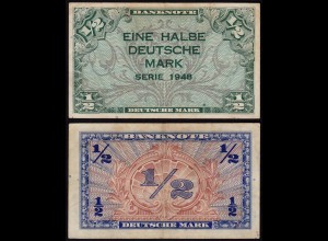 BDL - 1/2 Deutsche Mark 1948 Ro. 230 VF (3) (15112