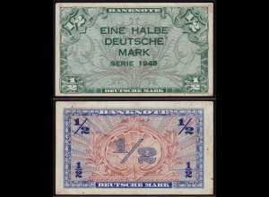 BDL - 1/2 Deutsche Mark 1948 Ro. 230 VF (3) (15097