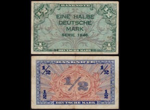 BDL - 1/2 Deutsche Mark 1948 Ro. 230 F/VF (3/4) (15107
