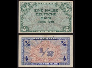 BDL - 1/2 Deutsche Mark 1948 Ro. 230 VF (3) (15106
