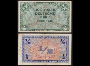 BDL - 1/2 Deutsche Mark 1948 Ro. 230 VF (3) (15105