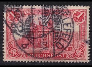 DEUTSCHES REICH 1 Mark 1900 Reichspost Mi. 63 gestempelt (24402