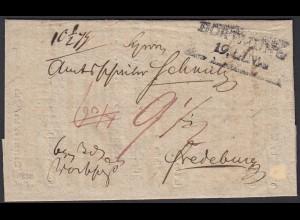 Preussen 1820 DORTMUND L2s - FREDEBURG Inhalt Taxierungen (24516