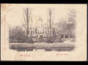 AK Den Haag Niederlande Huis ten Bosch 1899 (24490