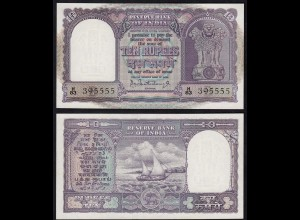 Indien - India - 10 RUPEES Banknote Pick 40b sig.75 UNC (1) Letter B (14888