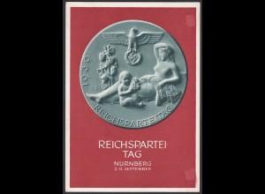 AK NS Militaria Propaganda Karte 3.Reich Reichsparteitag Nürnberg 1939 (24458