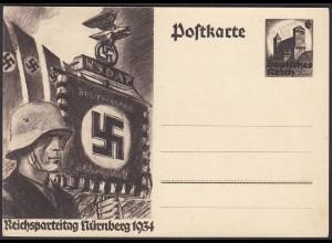 AK NS Propaganda Karte 3.Reich Reichsparteitag 1934 Nürnberg (24451