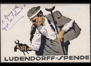 AK Künstler Ludendorff-Spende Kriegsbeschädigte Kriegsopfer 1918 (24464