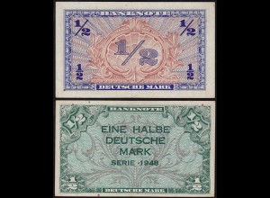 BDL - 1/2 Deutsche Mark 1948 Ro. 230 VF+ (3+) (14673