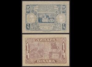 JUGOSLAWIEN - YUGOSLAVIA 25 Para 1921 Pick 13 XF (2) (14877