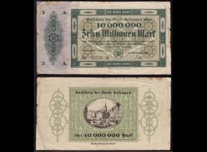 Solingen 10 Millionen Mark 1923 Notgeld gebraucht (14864