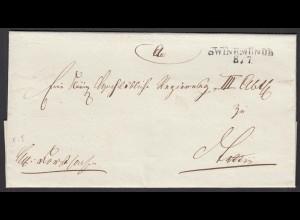 Preussen ca. 1825 Umschlag SWINEMÜNDE L2 Pommern (24541