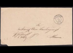 Preussen Umschlag Berlin K2 nach Hamm (24548