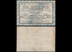BALINGEN EBINGEN TAILFINGEN 1 Million Mark Reichswährung 1923 (14855
