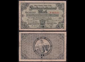 Düren Euskirchen Jülich Stolberg Eschweiler 500-T. Gutschein/Notgeld 1923