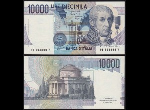 Italy - 10000 10.000 Lire Banknotes 1984 aUNC (1-) Pick 112a (14798